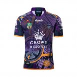 Jersey Melbourne Storm Rugby 2018-19 Commemorative