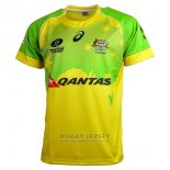 Australia Rugby Jersey 2016 Home