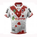 St George Illawarra Dragons Rugby Jersey 2018-19 Commemorative