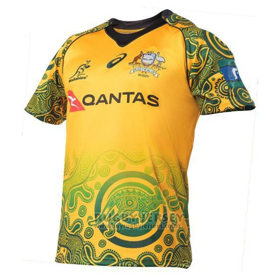 Australia Wallabies Rugby Jersey 2017 Indigenousus