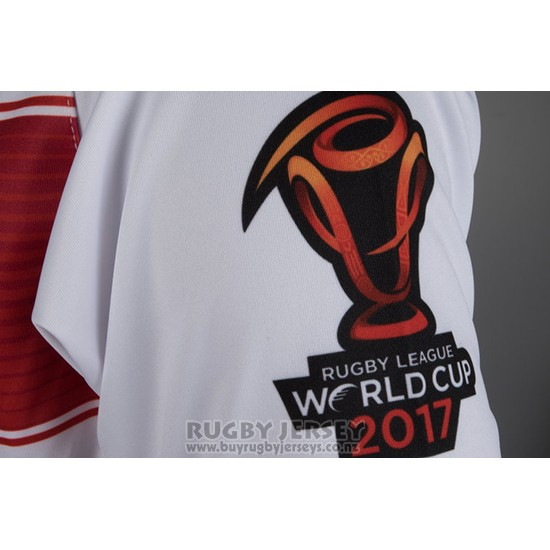 England Rugby Jersey RLWC 2017 Home