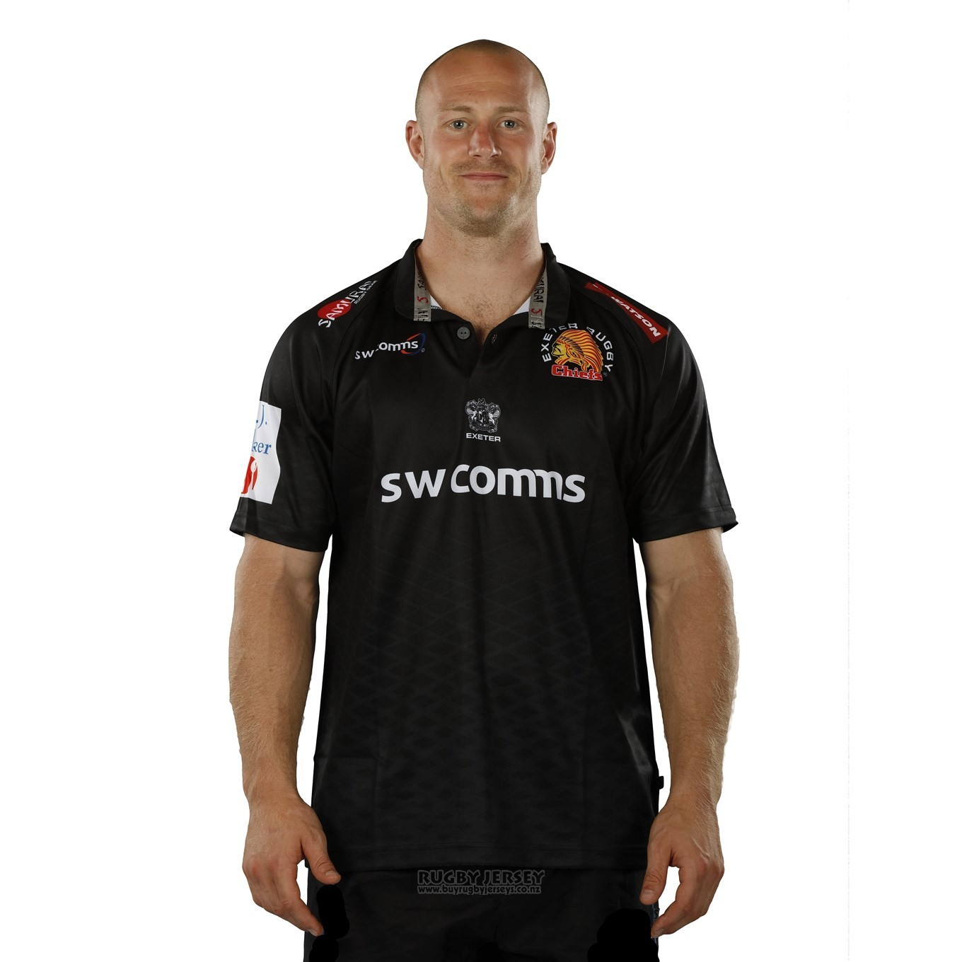 d37b1b21a13 Jersey Exeter Chiefs Rugby 2017-18 Home | www.buyrugbyjerseys.co.nz